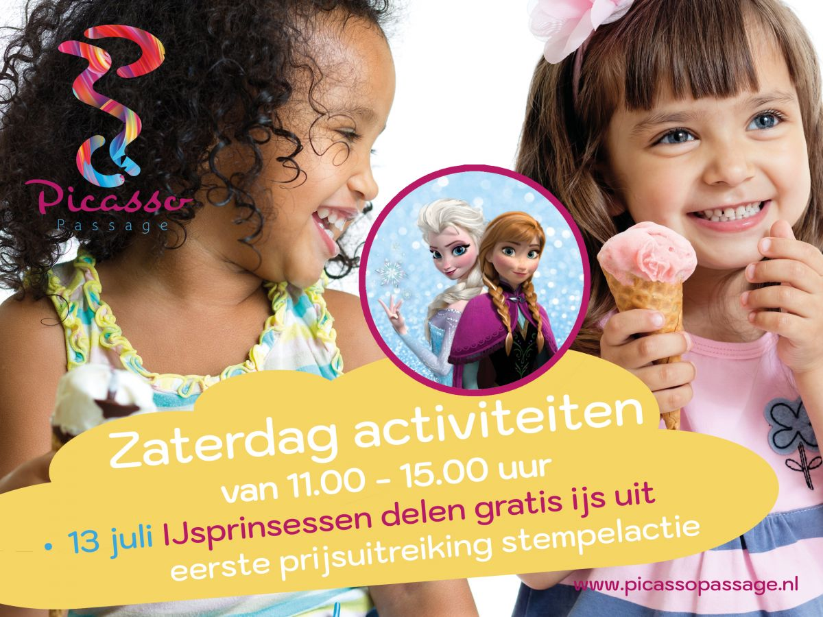 Frozen - meet & greet en gratis ijsjes