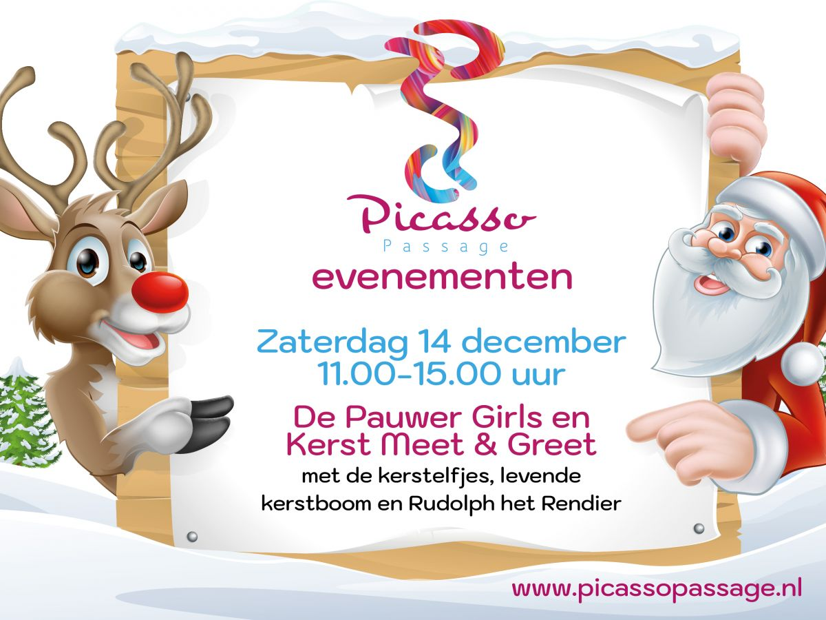 Pauwergirls - Kerst meet & greet